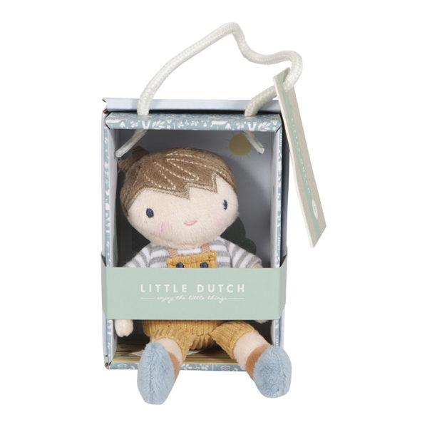 Lalka przytulanka Little Dutch Lalka Jim 10cm