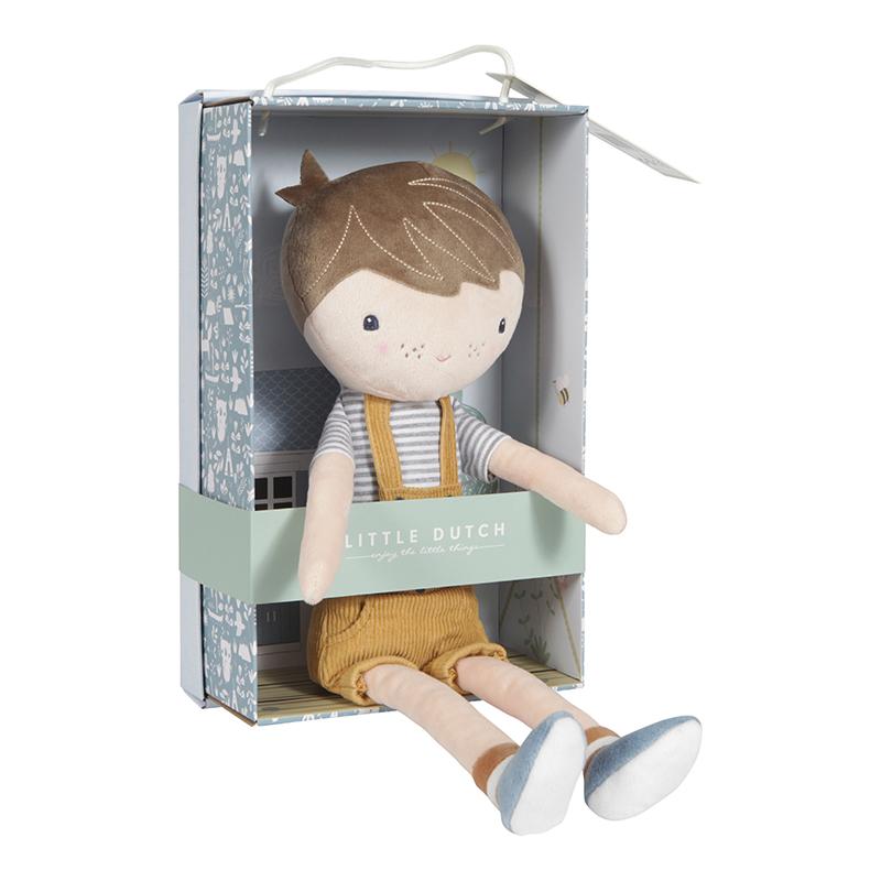 Lalka przytulanka Little Dutch Lalka Jim 35 cm