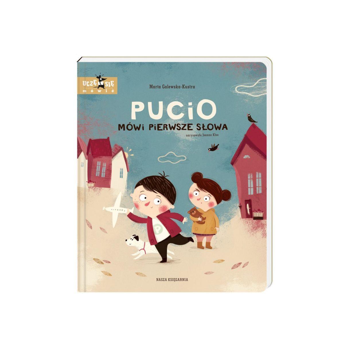 Pucio mówi pierwsze słowa - pierwsza książeczka dla dziecka