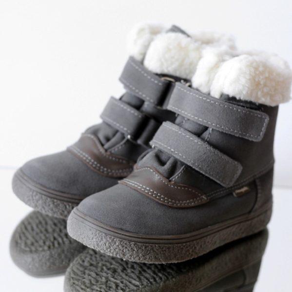 MRUGAŁA kozaczki zimowe HILL Grey TE-POR (4)