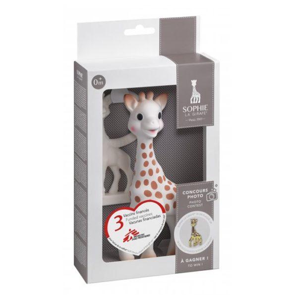 Żyrafa SOPHIE zestaw dwóch gryzaków