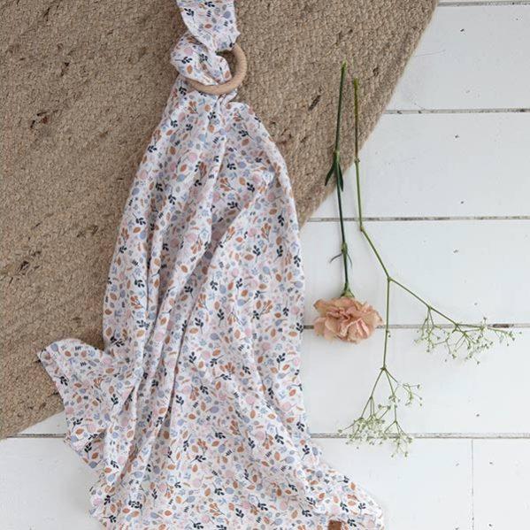 LITTLE DUTCH otulacz 120 x 120 cm Spring Flowers