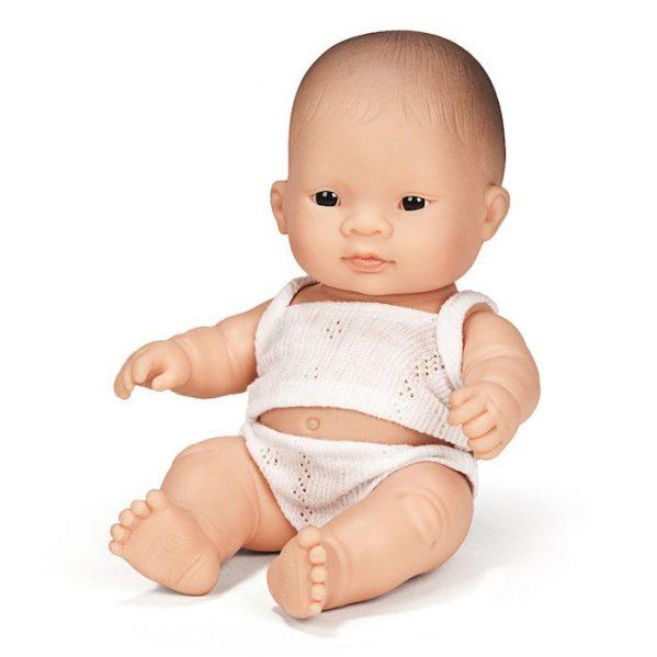 MINILAND lalka dziewczynka Azjatka 21cm