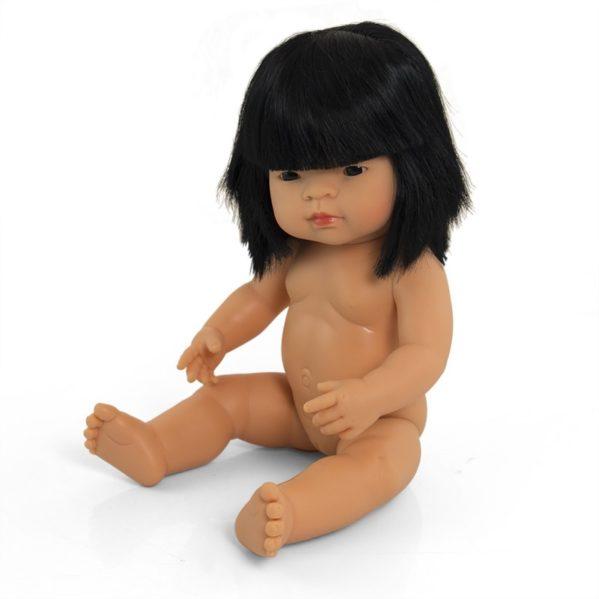 MINILAND lalka dziewczynka Azjatka 38 cm