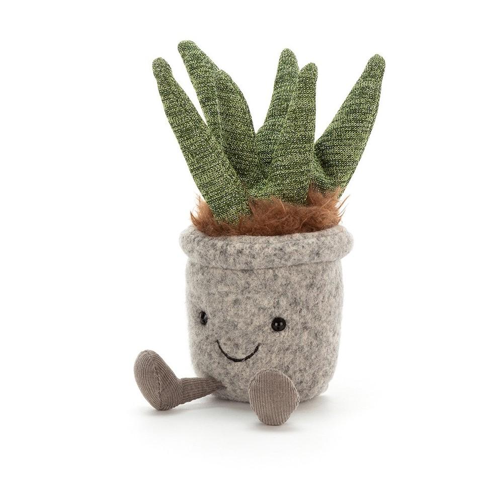 JELLYCAT maskotka pluszowy kaktus ALOES 16cm