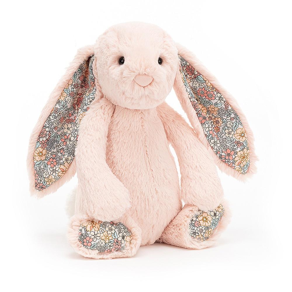 JELLYCAT pluszowy króliczek pastelowy RÓŻ 31 cm