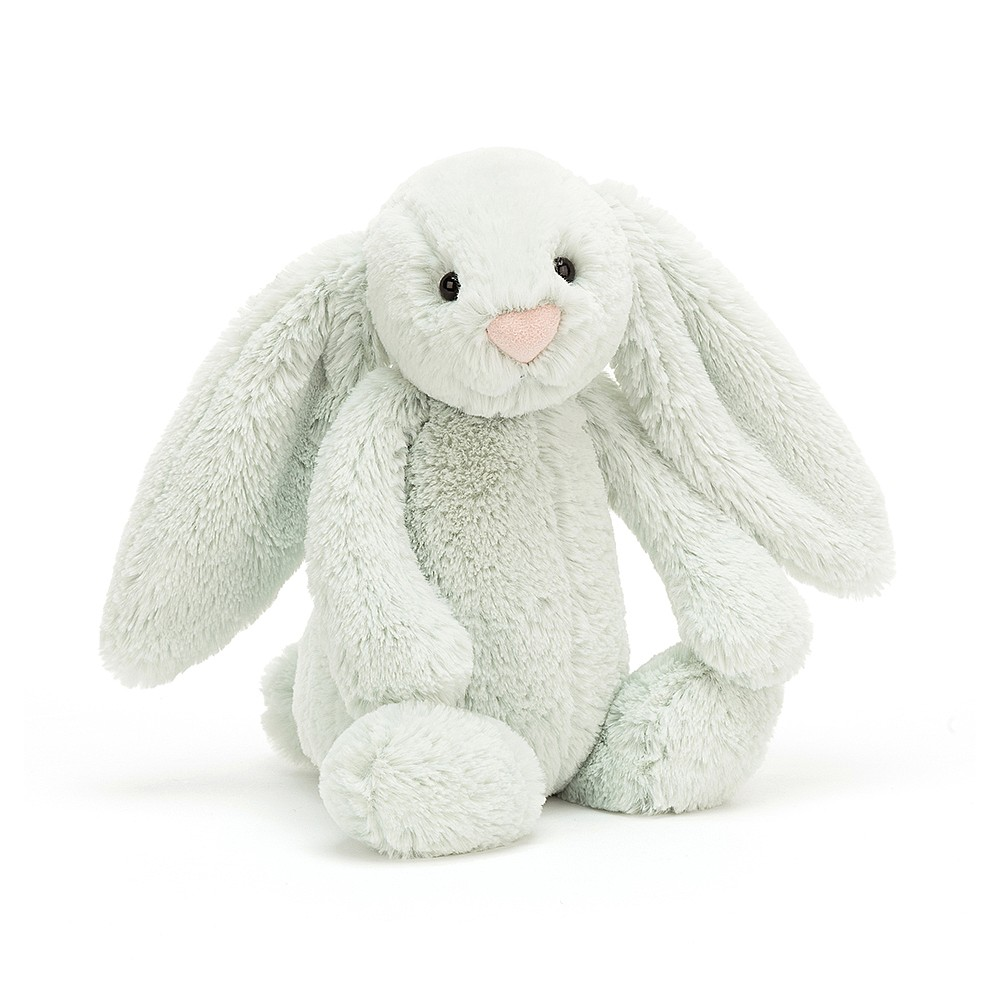 JELLYCAT pluszowy króliczek pastelowy ZIELONY 31 cm