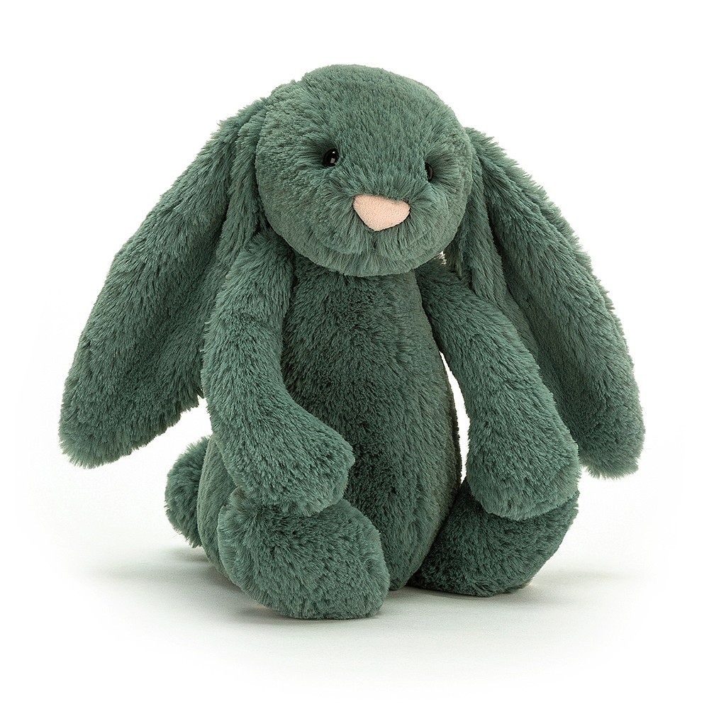 JELLYCAT pluszowy króliczek zielony FOREST 31 cm