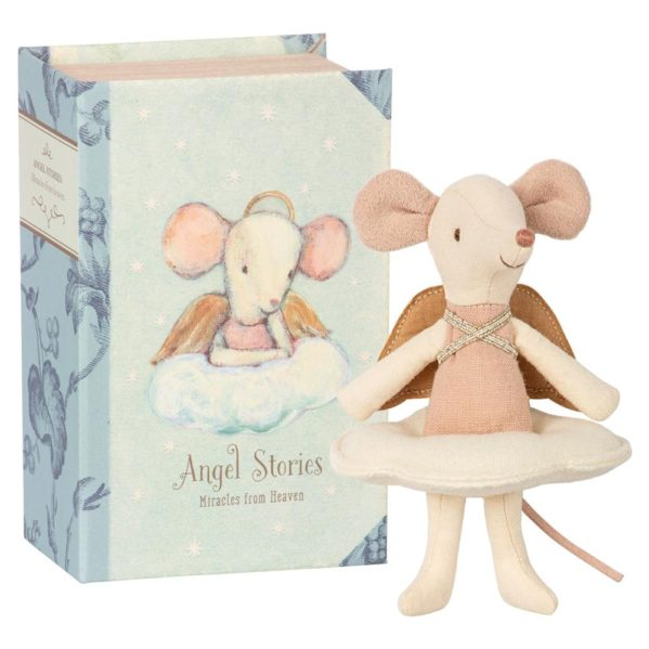 MAILEG myszka Angel mouse big sister in book