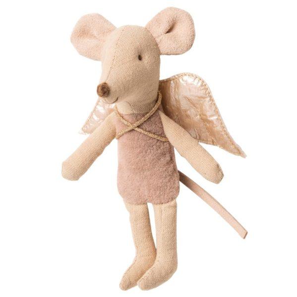 MAILEG myszka Wróżka młodsza siostra Fairy Mouse POWDER pink