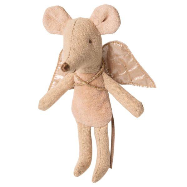 MAILEG myszka Wróżka młodsza siostra Fairy Mouse brzoskwinia