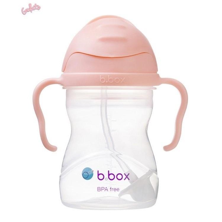 B.BOX bidon niekapek ze słomką GELATO kolor Tutti Frutti 240ml