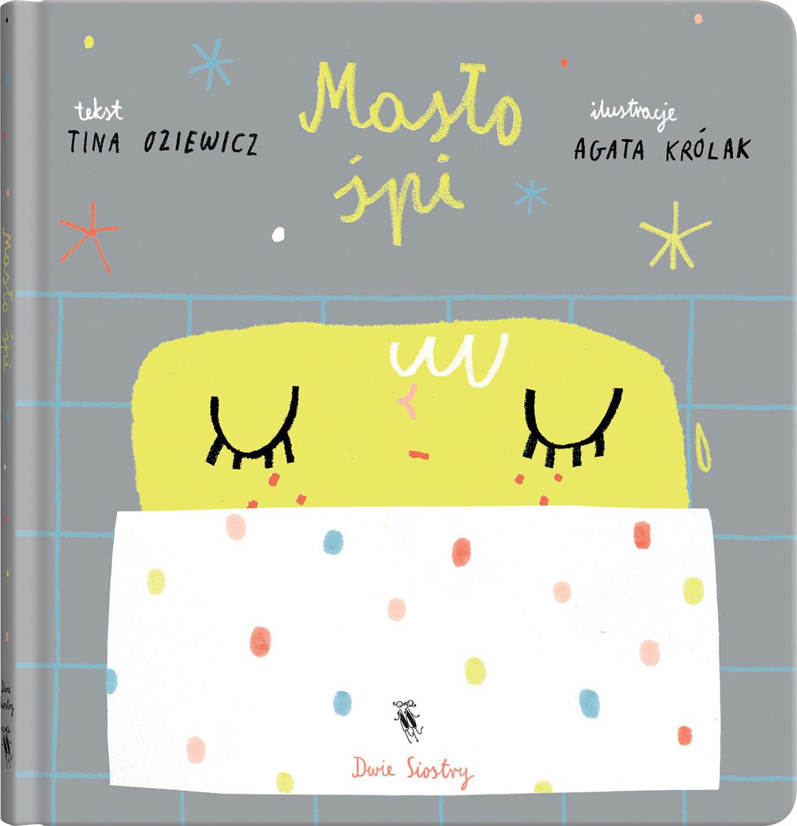 Masło śpi - książeczka kartonowa