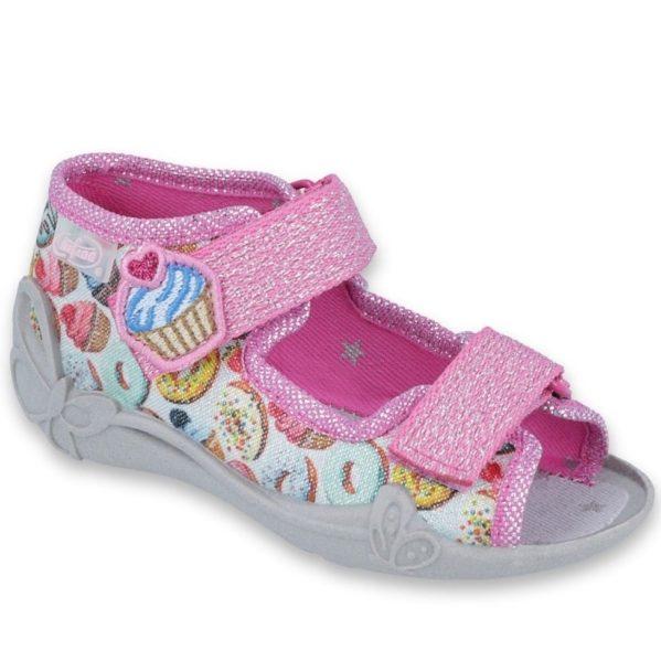 BEFADO kapcie sandały dziewczęce Papi 242P092