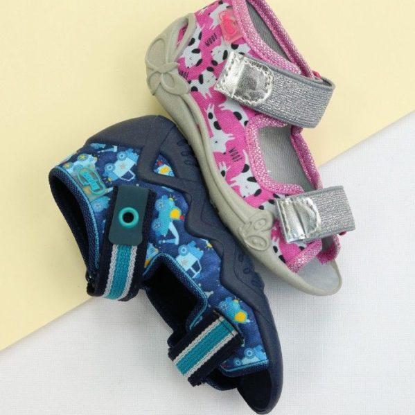 BEFADO kapcie sandały dziewczęce Papi 242P095