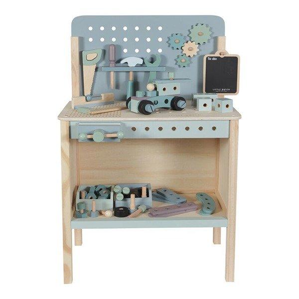 LITTLE DUTCH drewniany warsztat z narzędziami