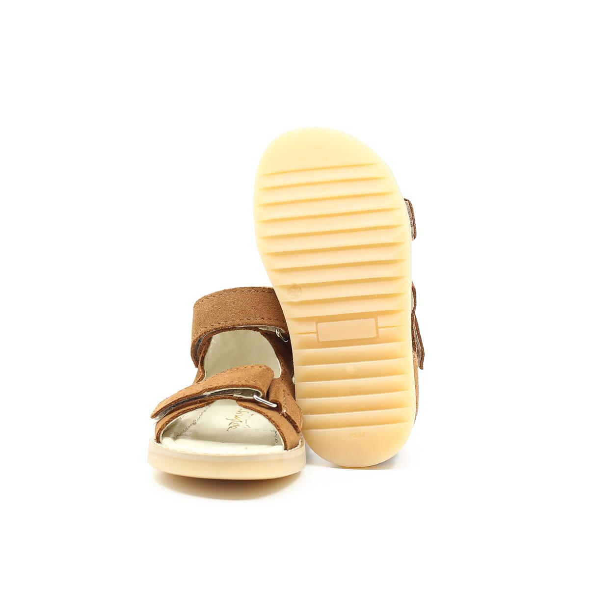 Mrugała sandały dziecięce HUGO tabaco 20-30
