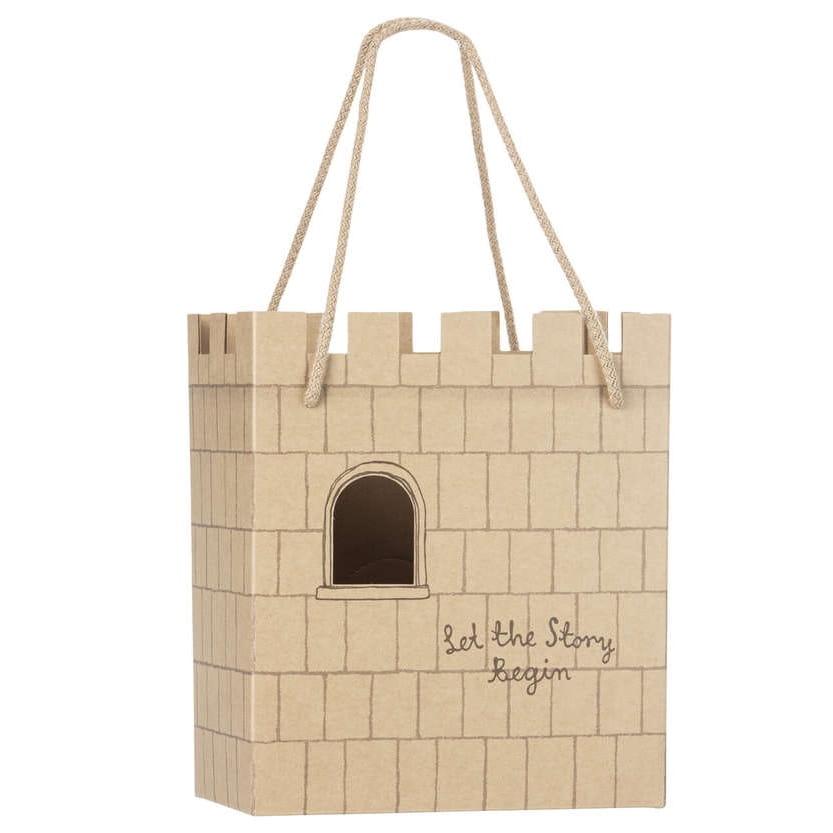 MAILEG torebka papierowa - Paper bag, Princess on the pea