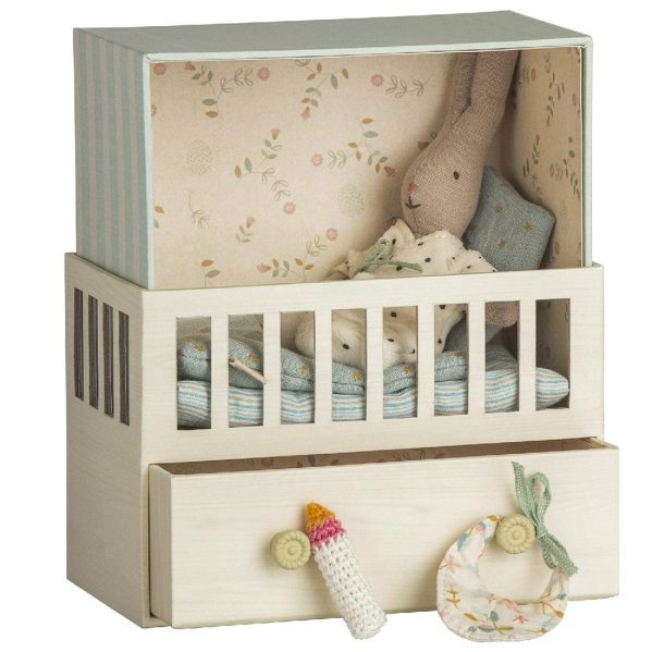 MAILEG króliczek Baby room w. Micro rabbit