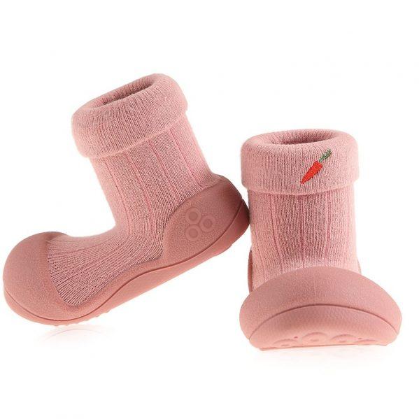 ATTIPAS buciki kapcie dla dzieci BONG-BONG PINK