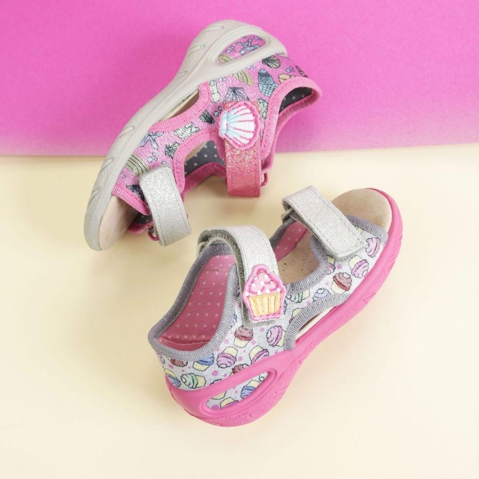 BEFADO sandały dziewczęce Sunny 065X135