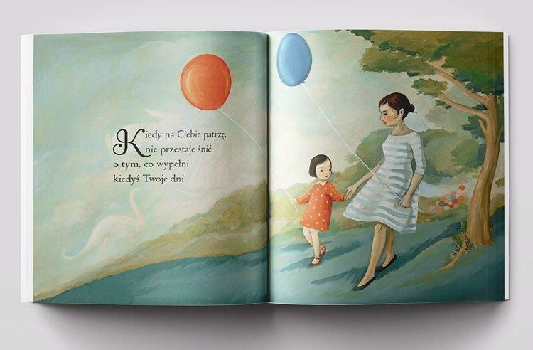 Kiedy na ciebie patrzę - książka dla dzieci