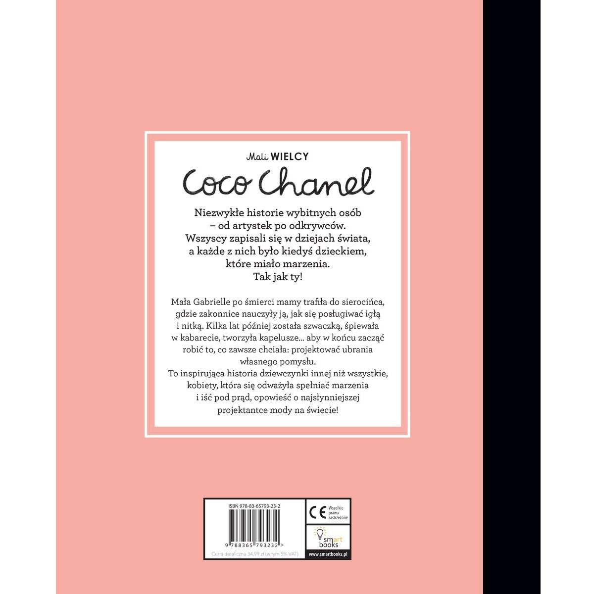 Książka Mali WIELCY. Coco Chanel chwalipietka