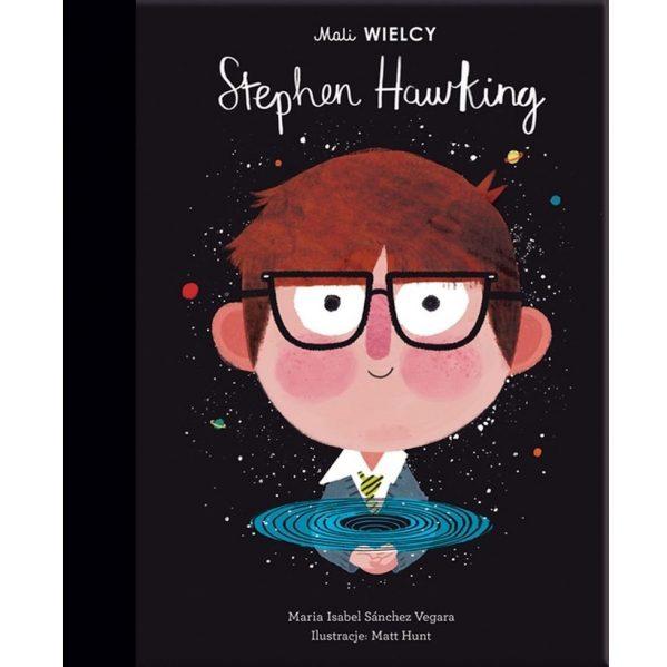 Książka Mali WIELCY. Stephen Hawking chwalipietka