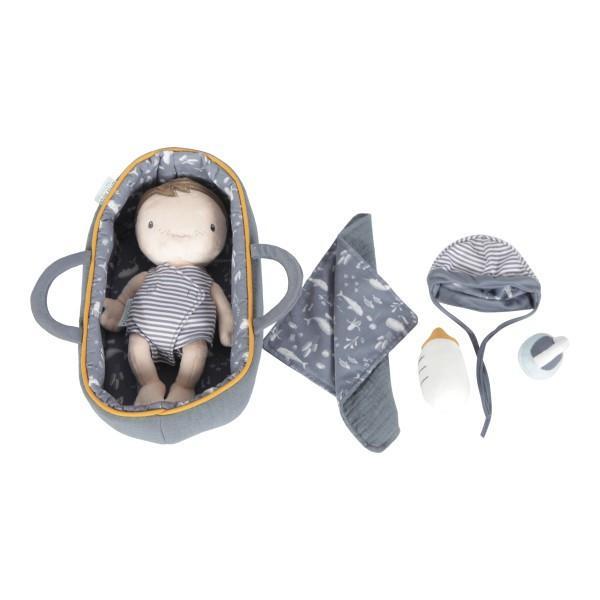 LITTLE DUTCH szmaciana laleczka dzidziuś Baby Jim 26 cm chwalipietka