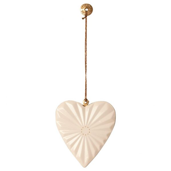 MAILEG ozdoba choinkowa Serce - metal ornament Heart