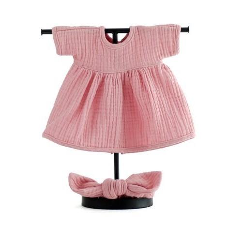 MINILAND Komplet Sukienka i Opaska Pin Up Pinky Winky ROZMIAR 38
