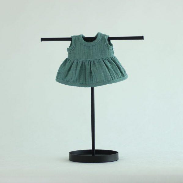 MINILAND Sukienka Muślinowa Frosty Green ROZMIAR 21