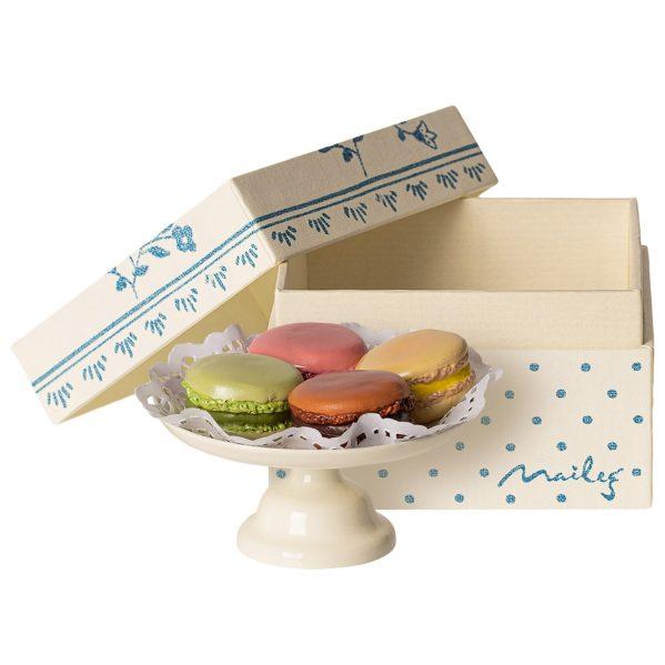 MAILEG patera z makaronikami - Macarons et chocolat chaud