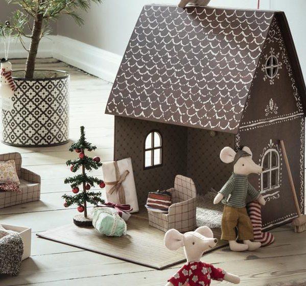 MAILEG dekoracja domek z piernika - Gingerbread house