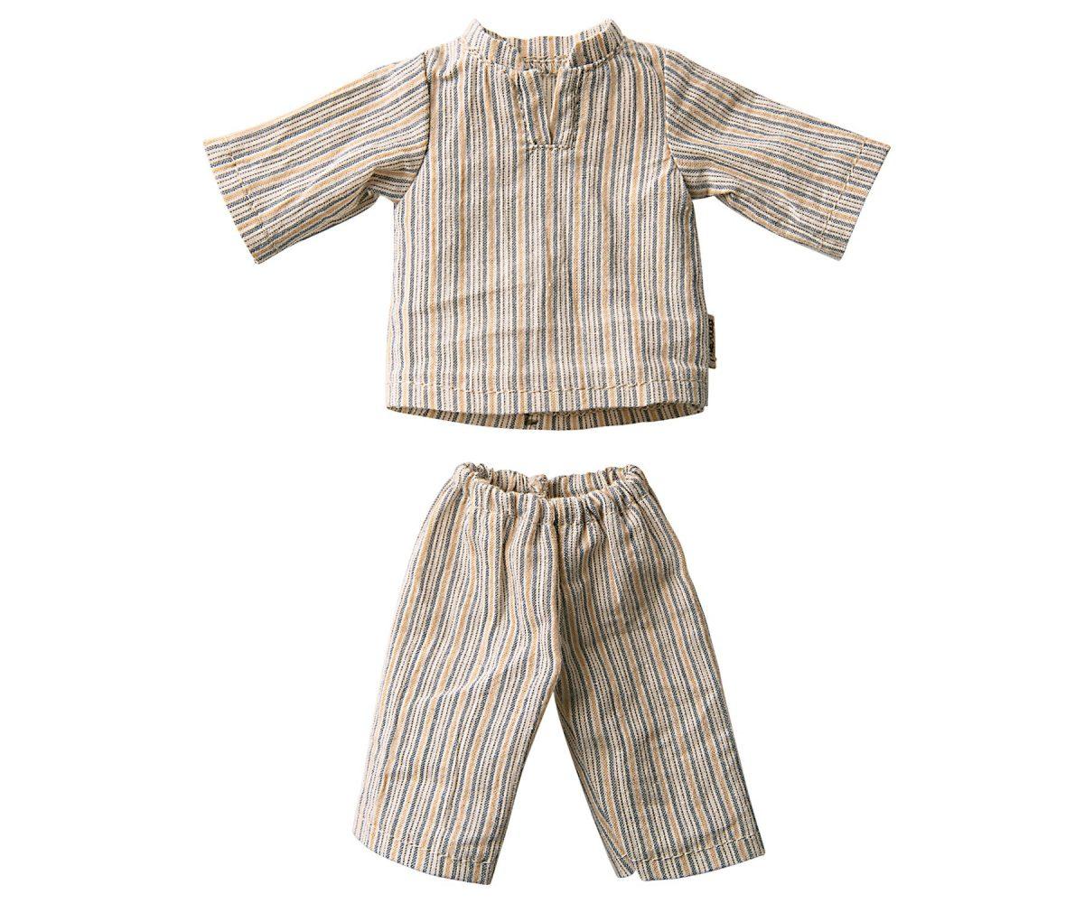 MAILEG koszula nocna taty misia - Pyjamas for Teddy Dad