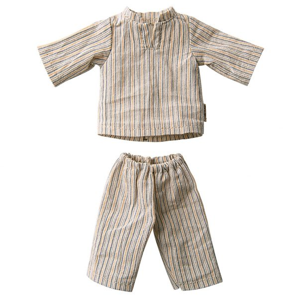 MAILEG koszula nocna taty misia - Pyjamas for Teddy Dad