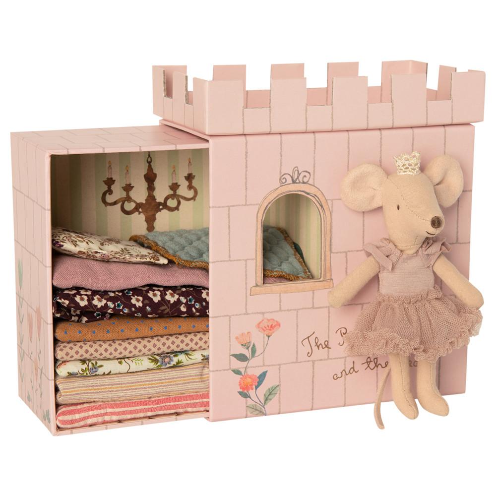 MAILEG księżniczka myszka na ziarnku grochu - Princess and the pea Big sister