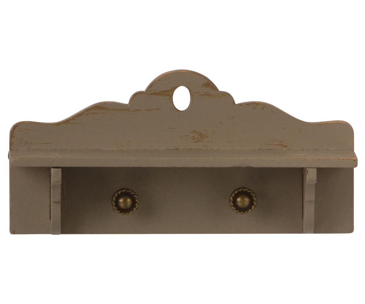MAILEG miniaturowa drewniana półka - Miniature shelf