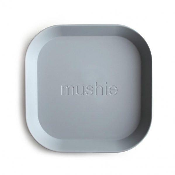 Mushie - 2 talerzyki Square Cloud