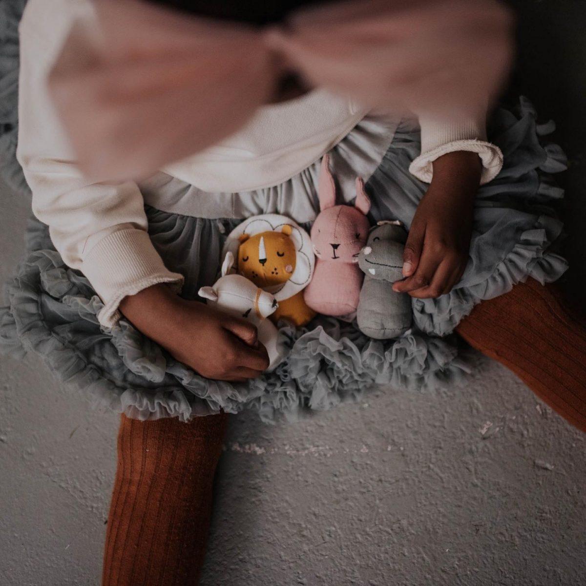 Picca LouLou - grzechotka przytulanka Królik