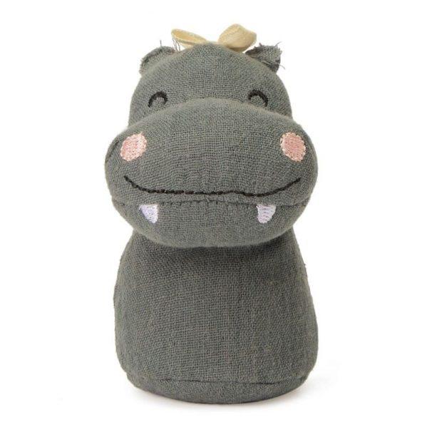 Picca LouLou - grzechotka przytulanka Hipopotam