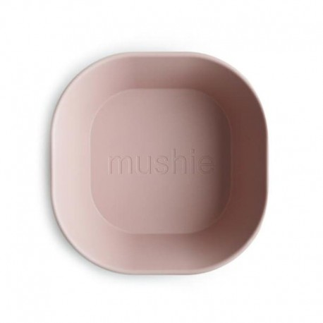 Mushie - 2 miseczki Square Blush