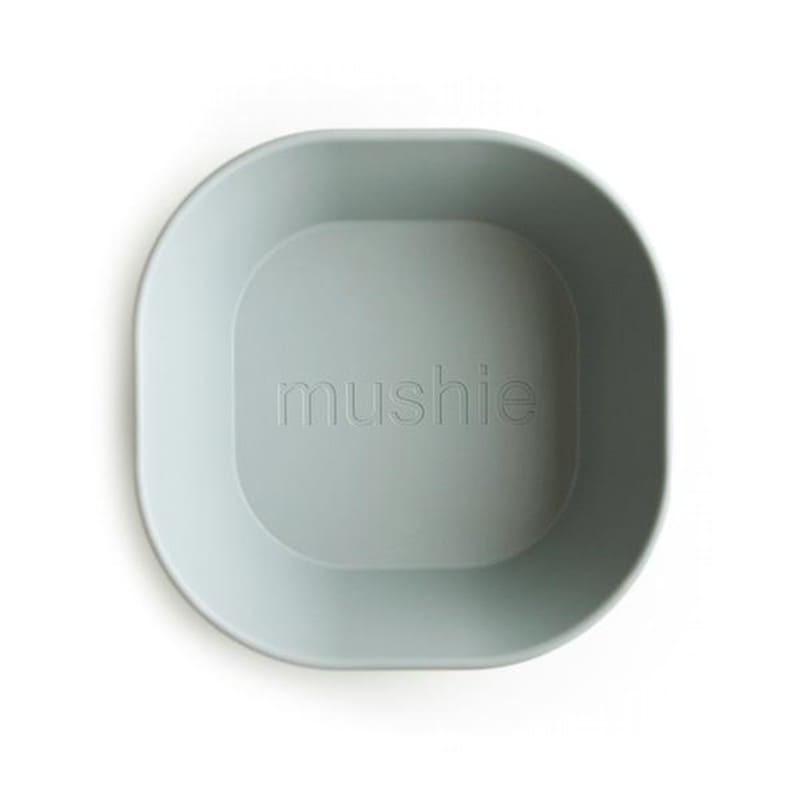 Mushie - 2 miseczki Square Sage