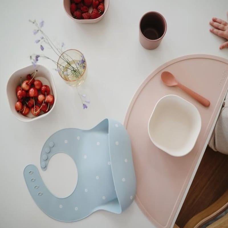Mushie - Podkładka silikonowa na stół Blush chwalipietka