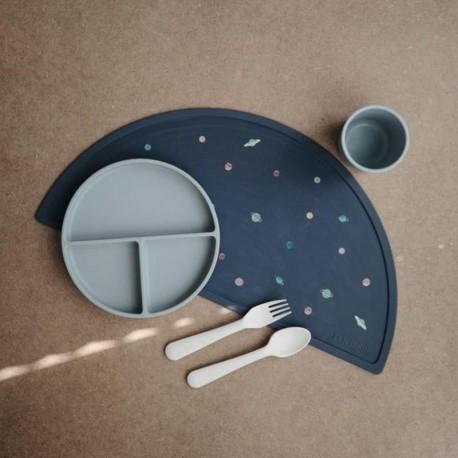 Mushie - Sztućce dla dzieci do nauki samodzielnego jedzenia Ivory