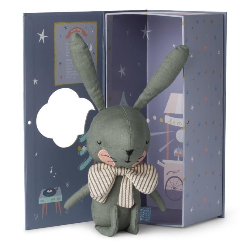 Picca LouLou - Przytulanka Pan Królik Green 18 cm Luxury Gift Box