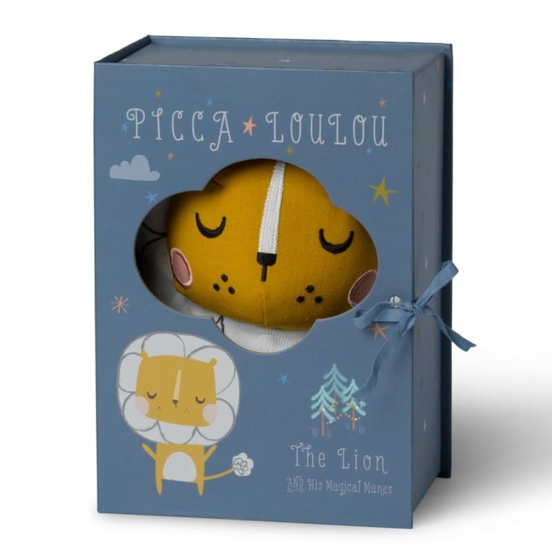 Picca LouLou - Przytulanka Pan Lew 18 cm Luxury Gift Box