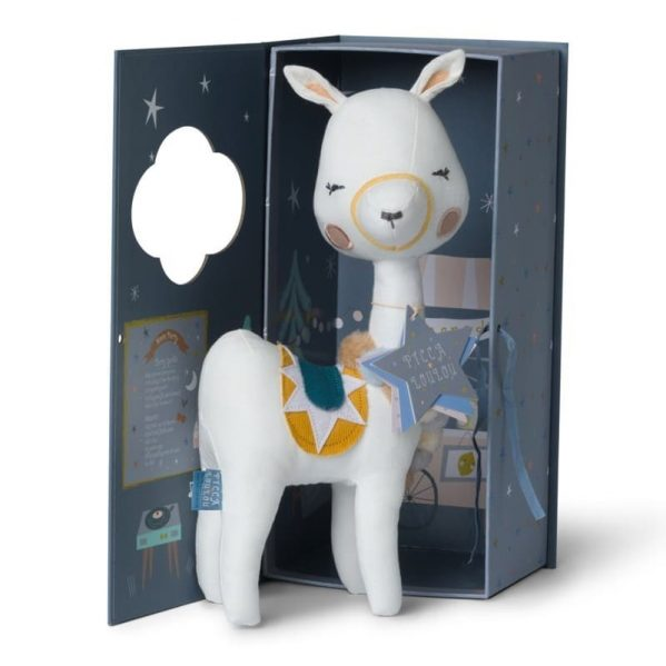 Picca LouLou - Przytulanka Pani Lama 27 cm Luxury Gift Box