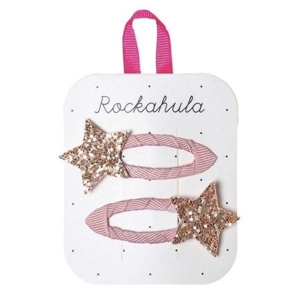 Rockahula Kids - spinki do włosów Star Burst Pink