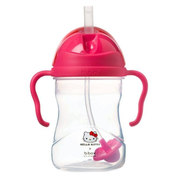 B.BOX bidon niekapek ze słomką 240 ml Hello Kitty Pop Star